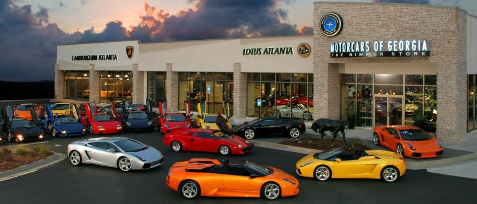 Lamborghini dealership atlanta