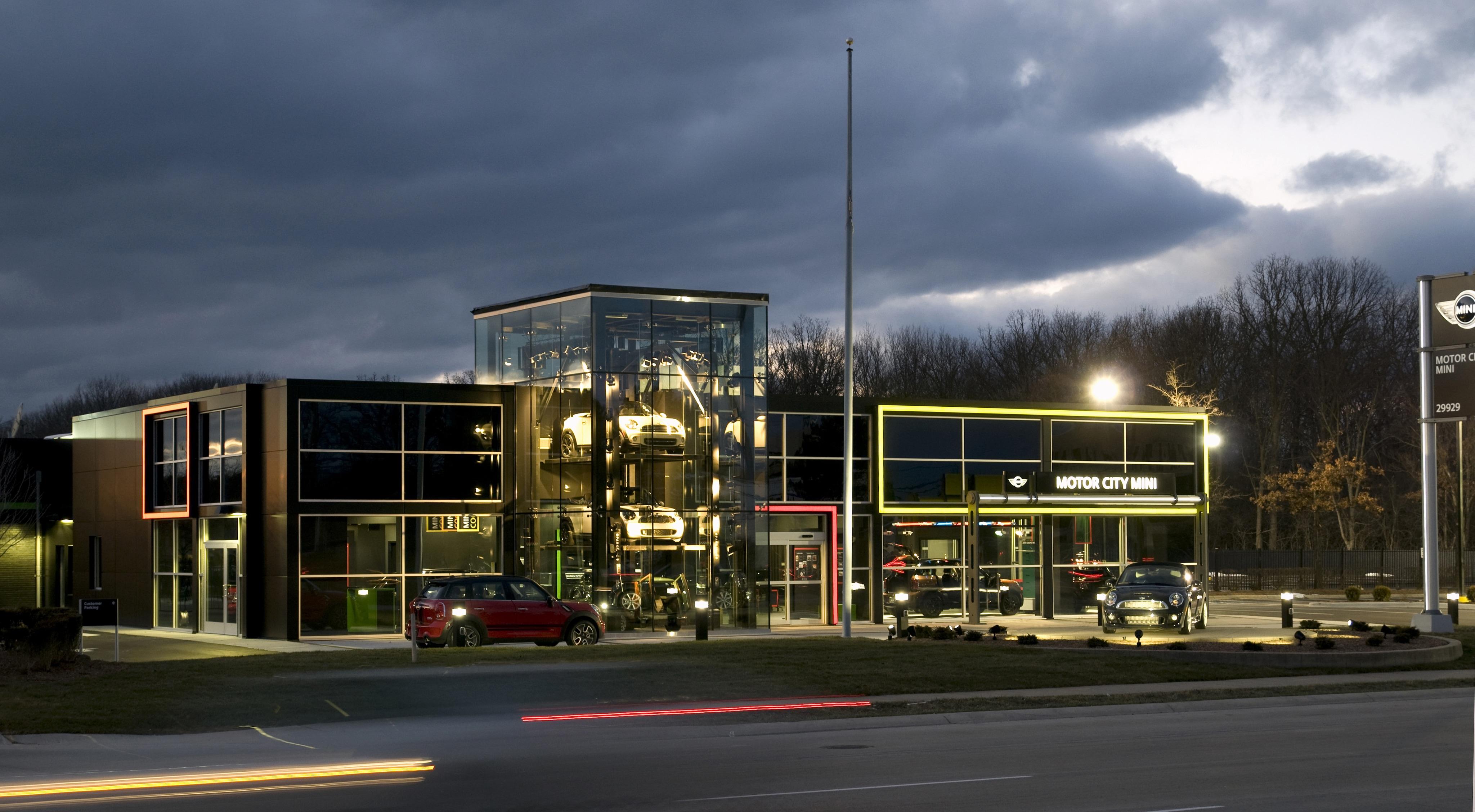 Motor city mini new mini dealership in southfield mi 48034 for Motor city car dealership