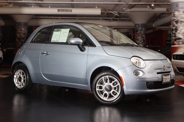2015 FIAT 500c Pop This outstanding example of a 2015 FIAT 500c Pop is offered by Motor Village LA