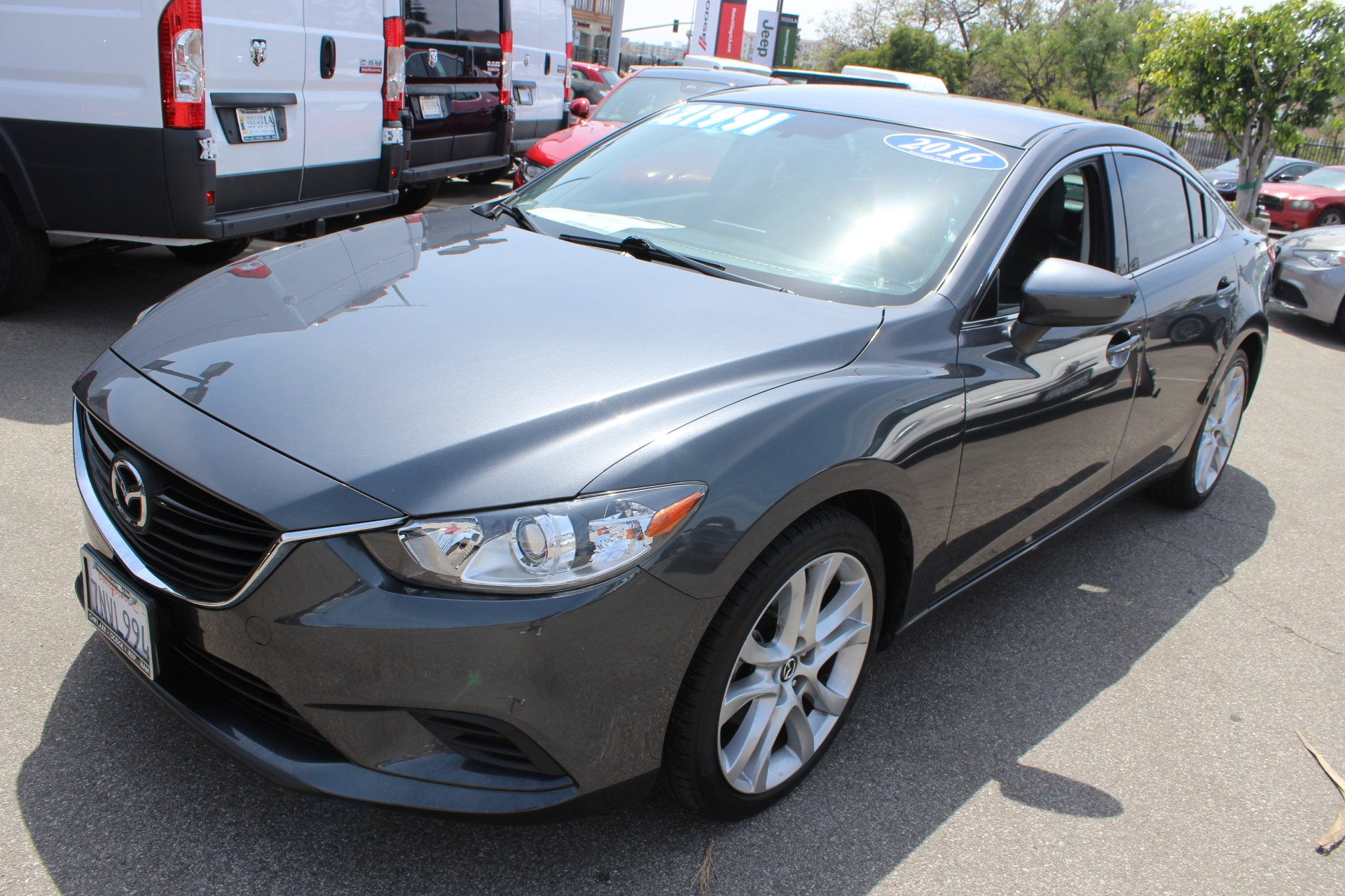 2016 Mazda Mazda6 i Touring Motor Village LA is pleased to be currently offering this 2016 Mazda