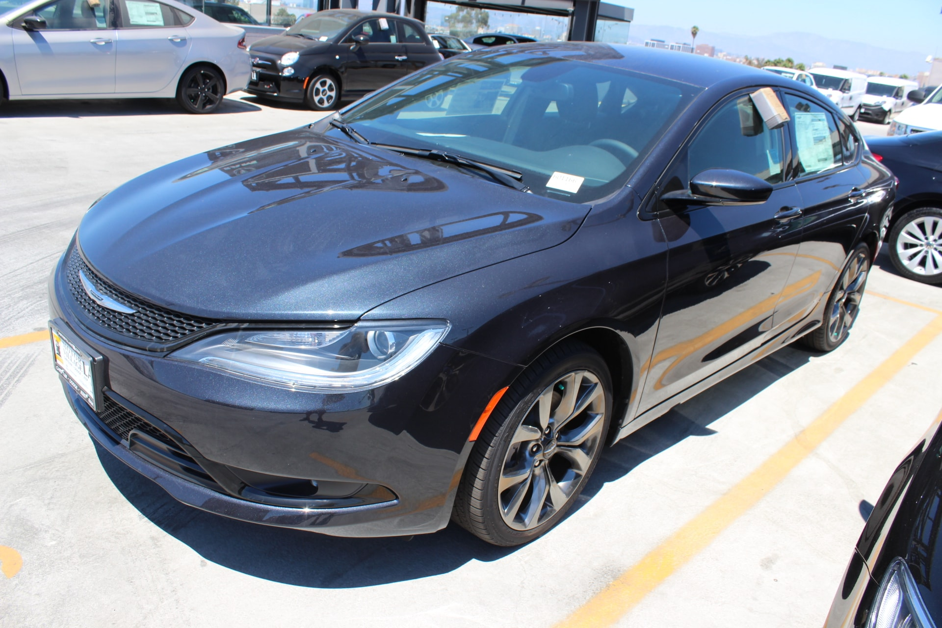 2016 Chrysler 200 S  1 Year Trial 3251 Final Drive Ratio 5-Year SiriusXM Traffic Service 5-Ye