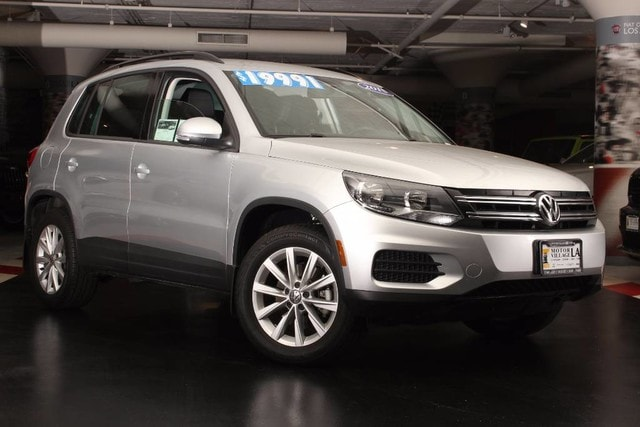 2015 Volkswagen Tiguan SE Motor Village LA has a wide selection of exceptional pre-owned vehicles