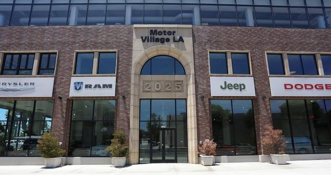 Buerge Chrysler Jeep Ram Motor Village La Los Angeles Ca