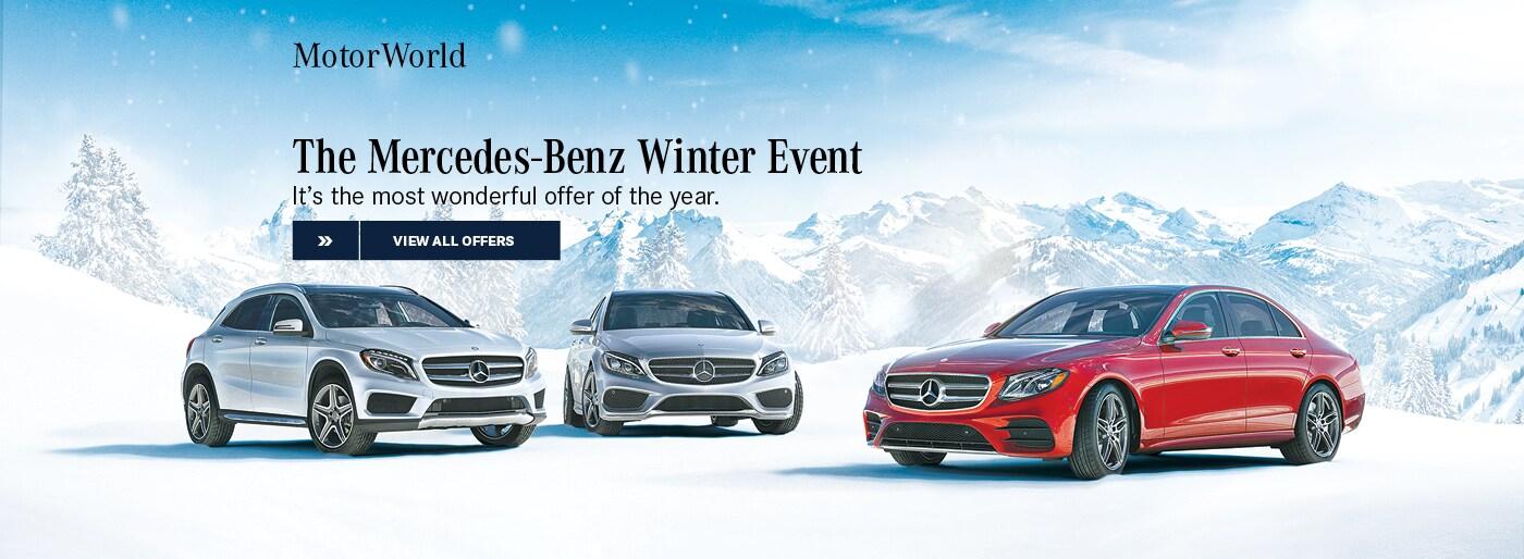 New pre owned mercedes benz models motorworld mercedes for Motor world wilkes barre hours