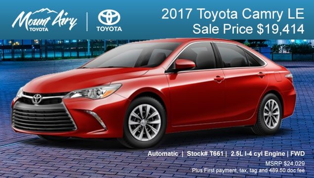 Mount Airy Toyota Is A Toyota Dealership Serving The