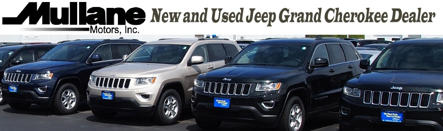 new used jeep grand cherokee dealer mullane motors. Black Bedroom Furniture Sets. Home Design Ideas
