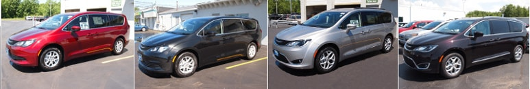 2017 Chrysler Pacifica inventory