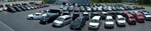 New and used car lot near Buffalo, NY