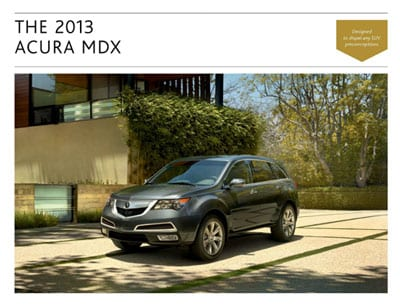 Lease Acura on 2013 Acura Mdx Chicago   Muller Acura