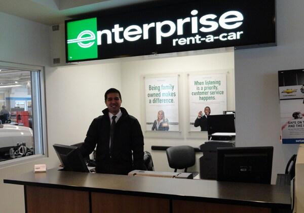 Enterprise Rent A Car Free Oil Change