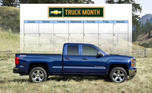 Muzi Chevrolet | Chevy Truck Month - Are There Really Savings This