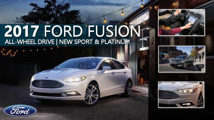 2017 Ford Fusion Awd Ford Dealership Near West Roxbury Ma
