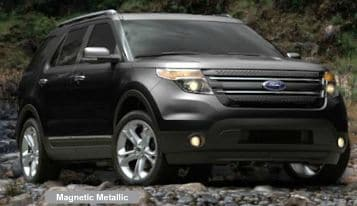 magnetic metallic 2015 ford explorer near boston - New 2015 Ford Explorer Black Color