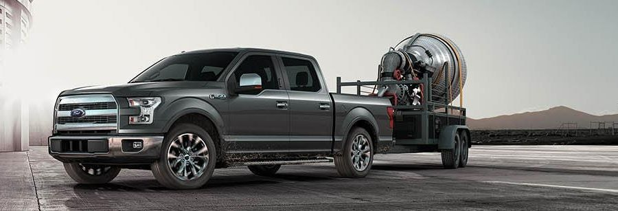 the f 150 aluminum body is built ford tough