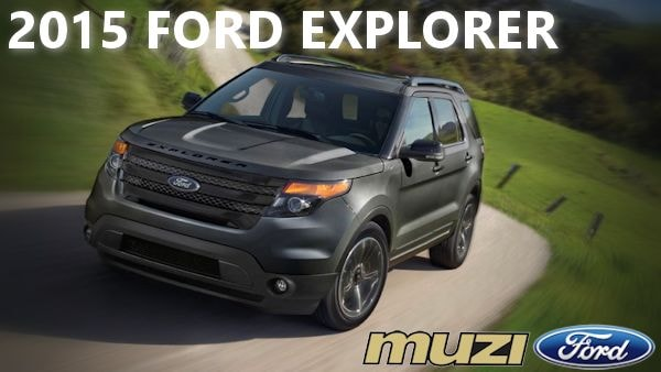2015 ford explorer near boston massachusetts at muzi ford - New 2015 Ford Explorer Black Color