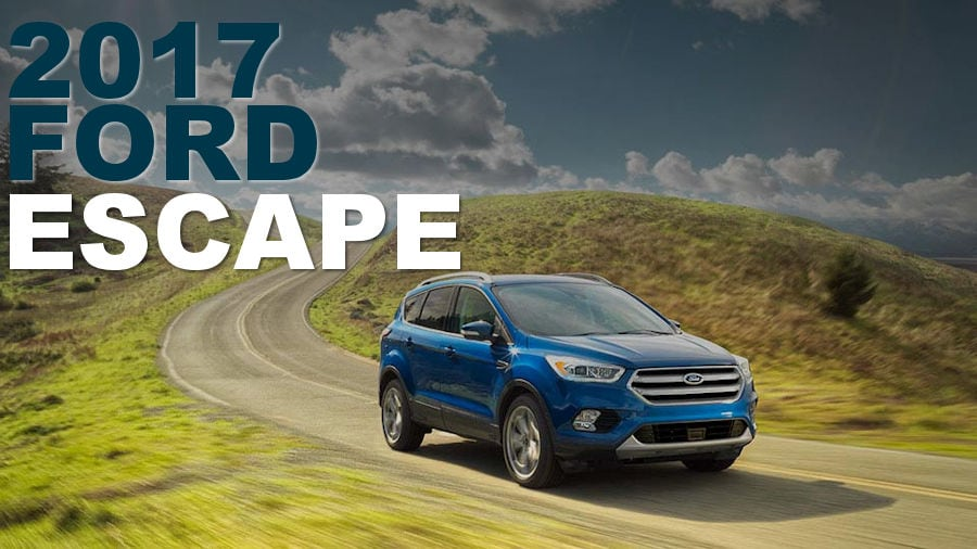 New 2017 Ford Escape Release Date At Muzi Ford Serving