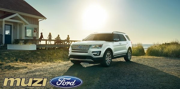 2016 Ford Explorer In Boston Ma New Explorer At Muzi