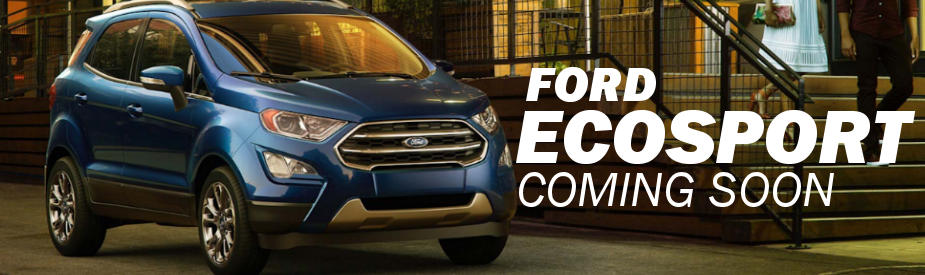 New 2018 Ford Ecosport Release Date At Muzi Ford Serving
