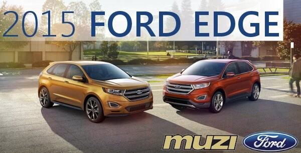 2015 Ford Edge In Boston Ma All New Edge At Muzi Ford