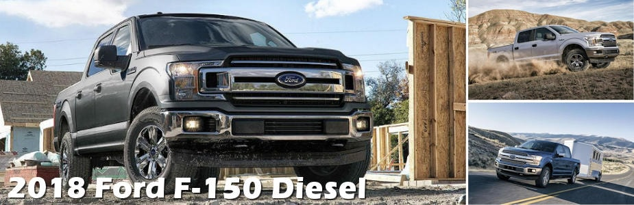 New 2018 Ford F150 Diesel Release Date  At Muzi Ford serving