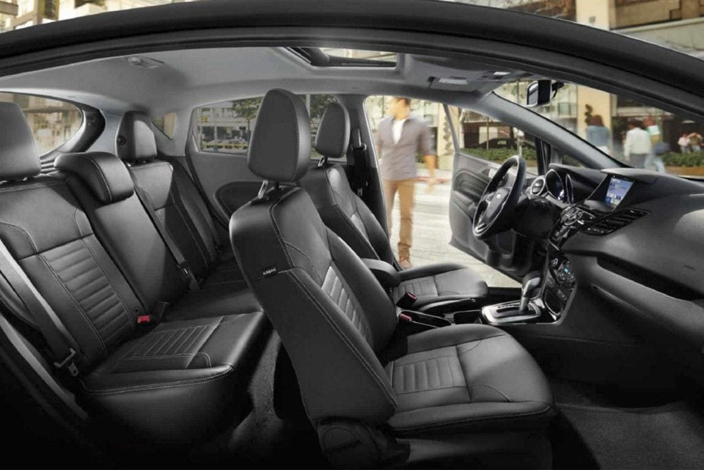 Ford Fiesta Interior Shot