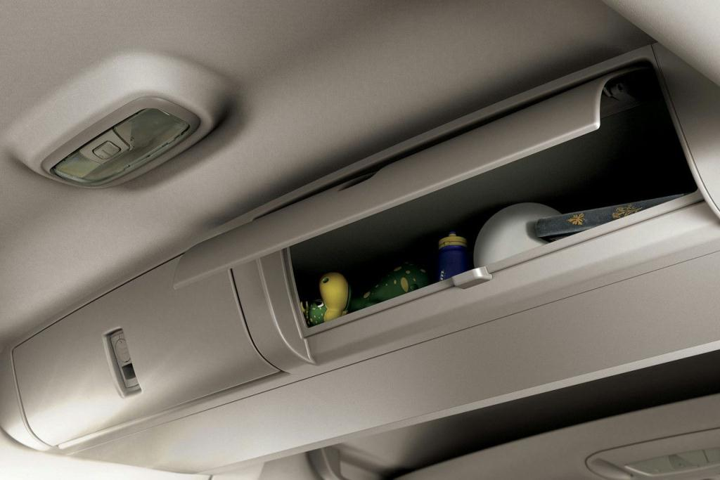 Ford Transit Connect Overhead Storage Compartment
