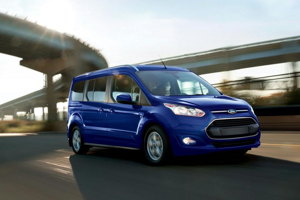 Ford Transit Connect Deep Impact Blue Titanium