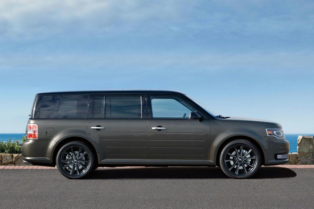 Ford Flex Limited in Magnetic with Available Appearance Package