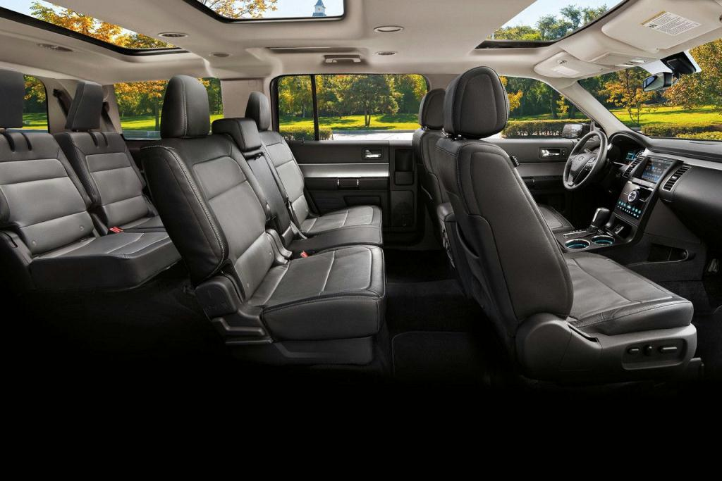Ford Flex Limited Interior in Charcoal Black