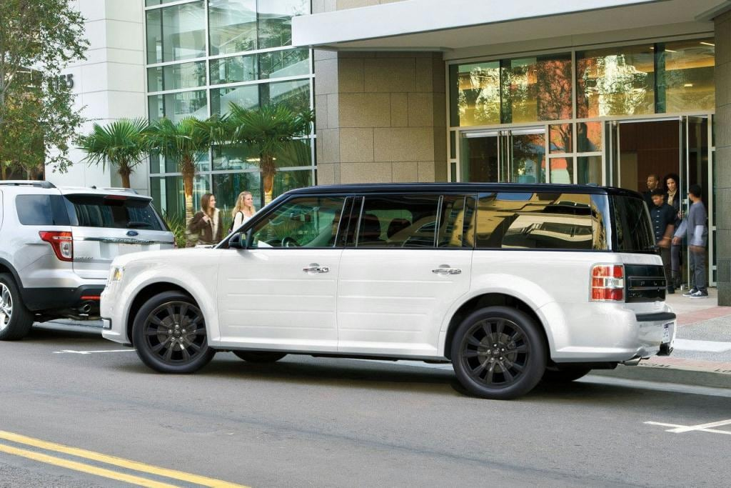 Ford Flex Limited with Appearanc Package in White Platinum