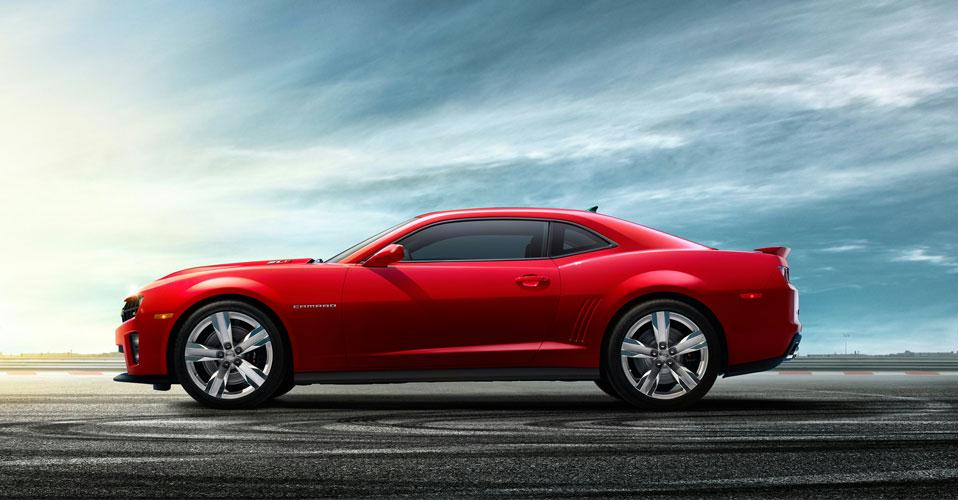 The New 2012 Chevrolet Camaro