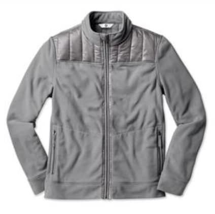 BMW Fleece Jacket Men's Grey