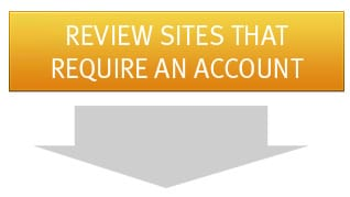 Review Sites that Require An Account