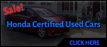 certified Honda dealer