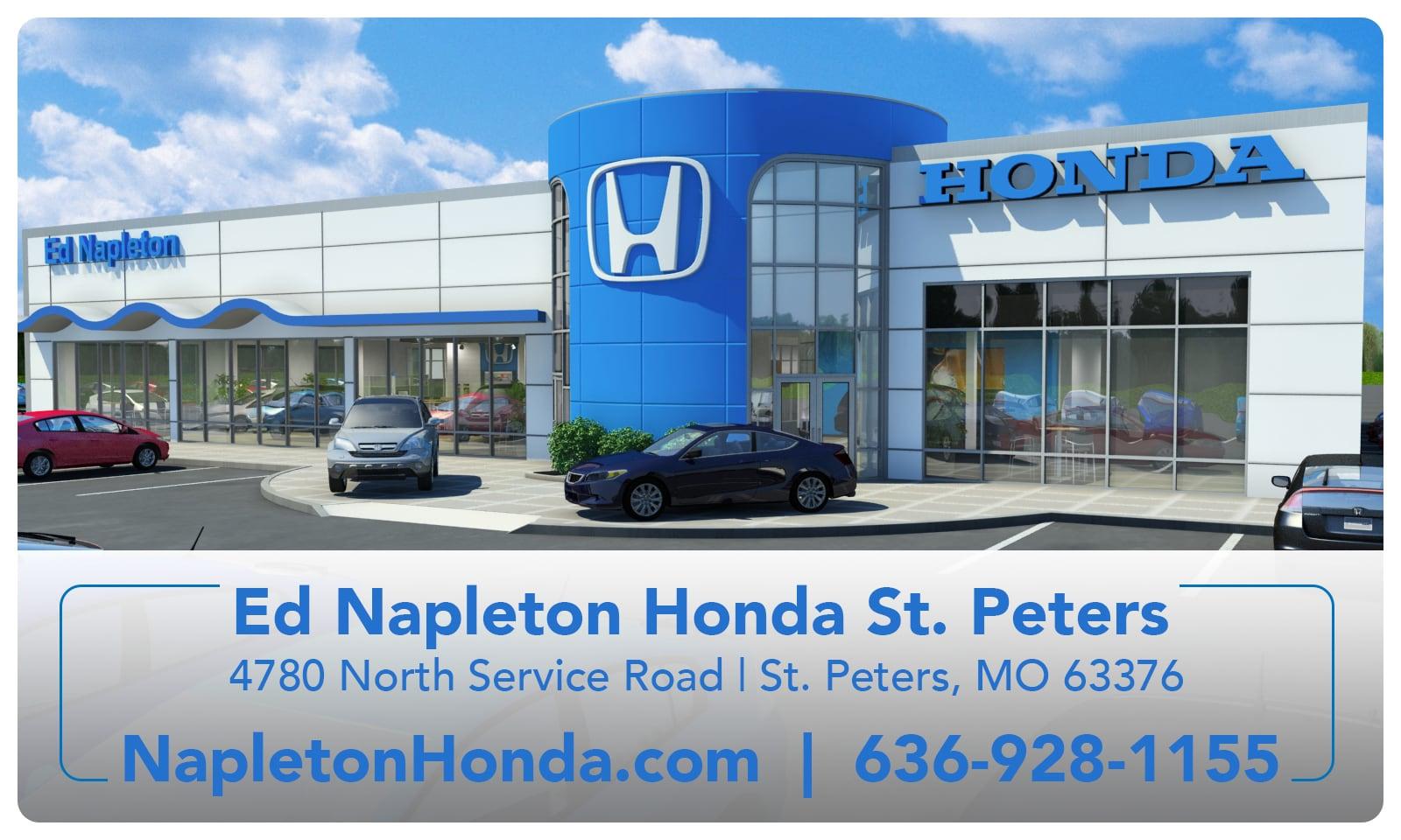 About ed napleton honda new honda and used car dealer for Honda dealership st louis