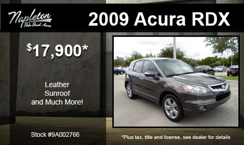 Acura Lease Specials on Acura   New Acura Dealership In West Palm Beach  Fl Used Car Specials