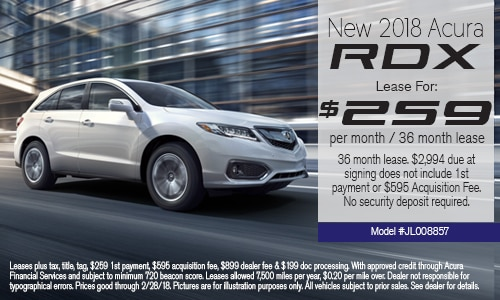 Acura Lease Deals In West Palm Beach At Napletons Palm Beach Acura - Best acura rdx lease deals