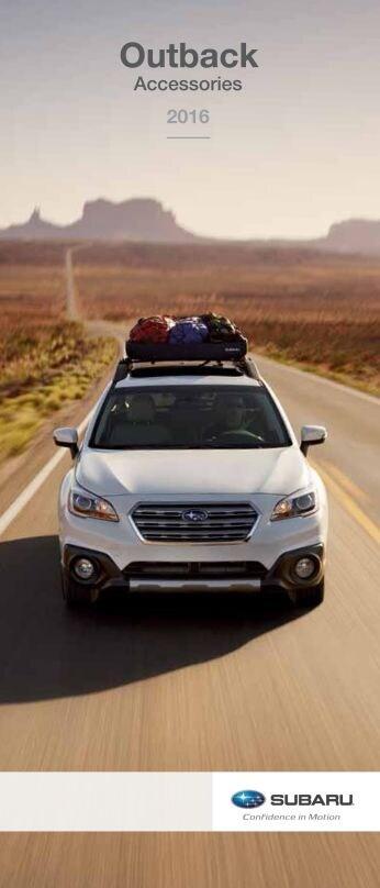 2015 Subaru Accessory Brochures Subaru Of Dayton