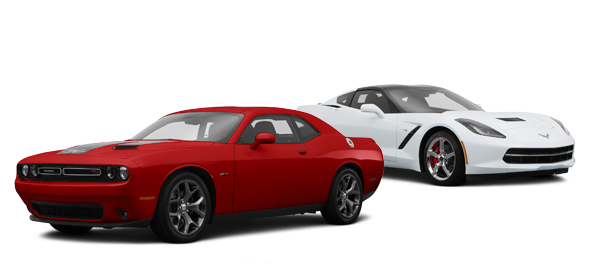 2015 Dodge Challenger vs Chevrolet Corvette