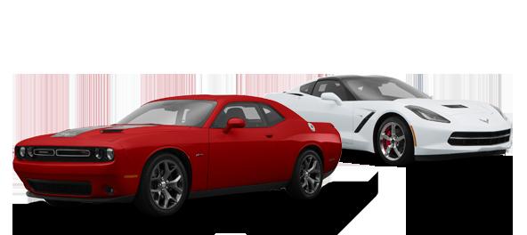2015 Dodge Challenger vs Chevrolet Corvette