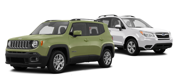 2015 Jeep Renegade vs Subaru Forester