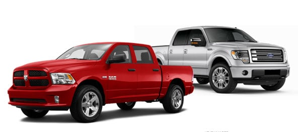 2015 Ram 1500 Tradesman vs Ford F-150 XL