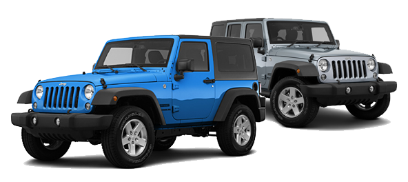 2015 Jeep Wrangler vs Jeep Wrangler Unlimited