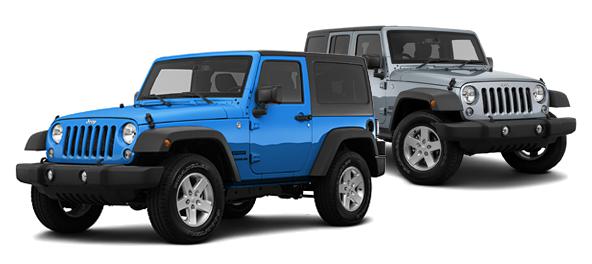 2015 Jeep Wrangler vs Jeep Wrangler Unlimited