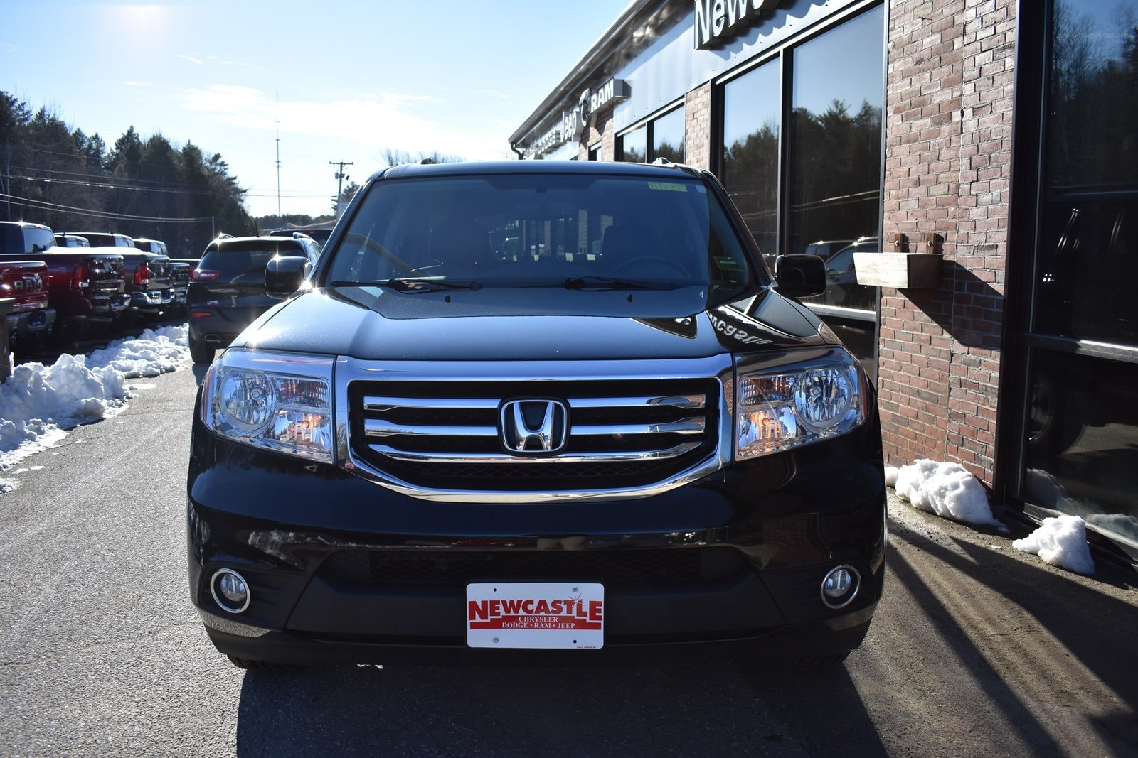 used 2014 honda pilot touring for sale in newcastle me near bath brunswick portland and. Black Bedroom Furniture Sets. Home Design Ideas