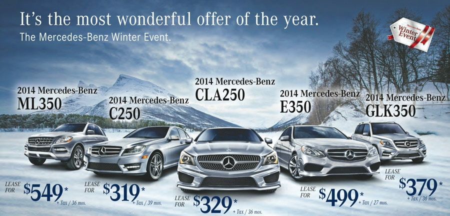 Mercedes benz of palm beach advertised specials for Special lease offers mercedes benz