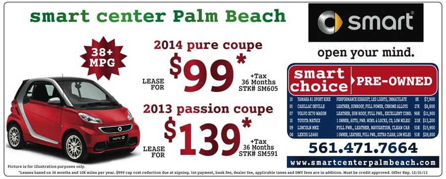 Mercedes benz of palm beach advertised specials for Mercedes benz of palm beach