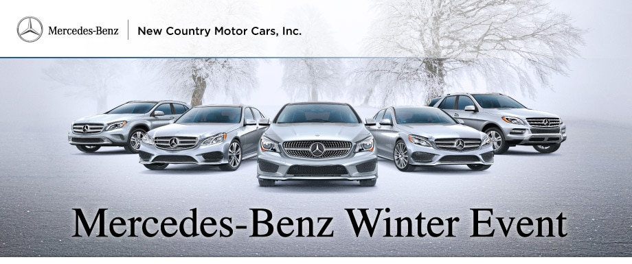 New country motor cars mercedes benz new mercedes benz for Mercedes benz winter event