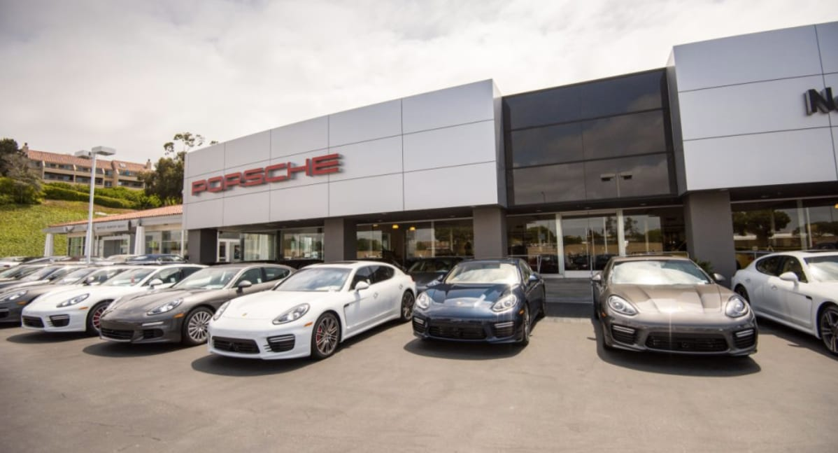 Porsche Newport Beach Dealership