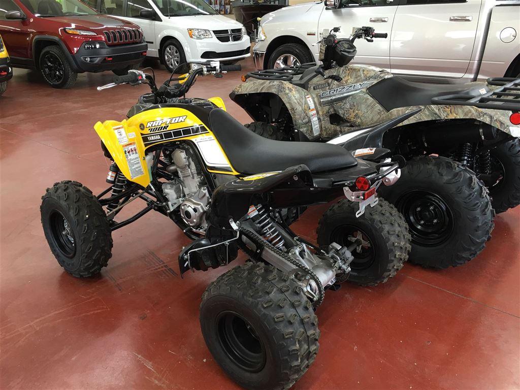 New 2016 yamaha raptor 700r se for sale nipawin sk for Yamaha raptor 700r